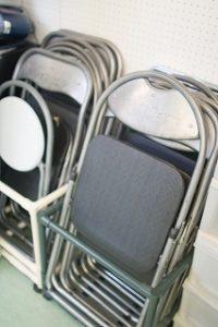 池袋 貸しスタジオ には 椅子 が用意してあります